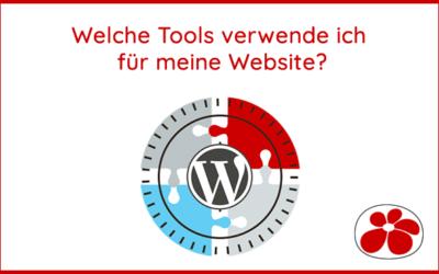 Welche Tools verwende ich für meine Website?